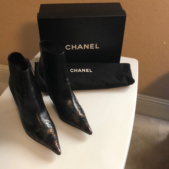 385db8a6f72a 🌺One Day Sale 🌺 Chanel Boots. NWT. CHANEL. $690 $1450. Size